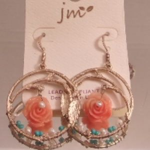 NWT JM COLLECTION 2 SETS EARRINGS.
